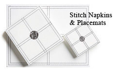 Stitch napkins