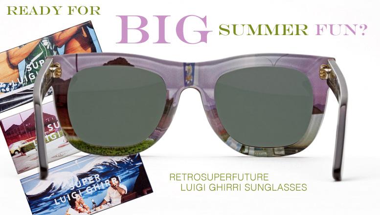 Retrosuperfuture Luigi Ghirri Sunglasses