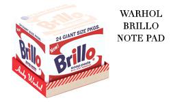 Warhol notepad