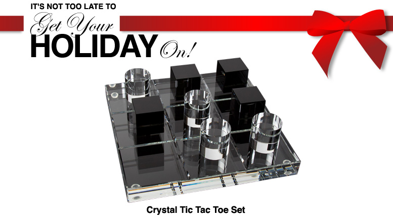 Crystal tic tac toe